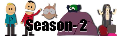 サウスパーク season2 バナー