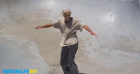 おじいちゃんスケーター