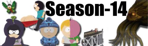 サウスパーク season14バナー