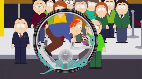 """サウスパーク 試乗最高の名車""""イット"""