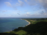 オーストラリア似の海岸線