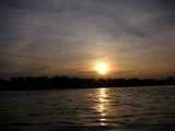 05.12.7の夕日水面アングルで