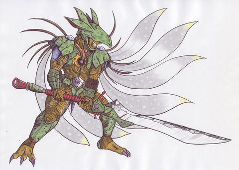 キャラクター-戦士