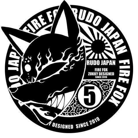 TシャツデザインRUDO JAPAN 火狐