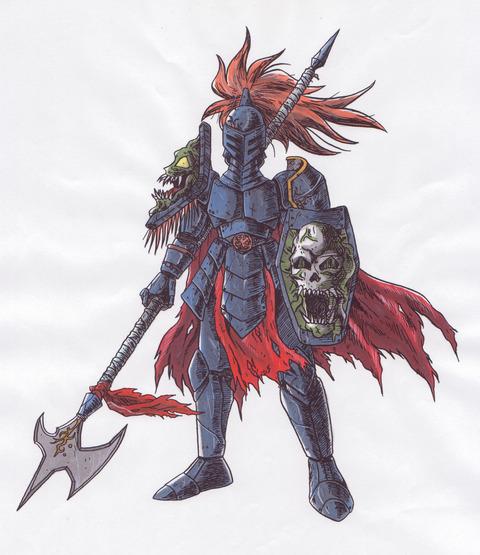キャラクター-暗黒騎士