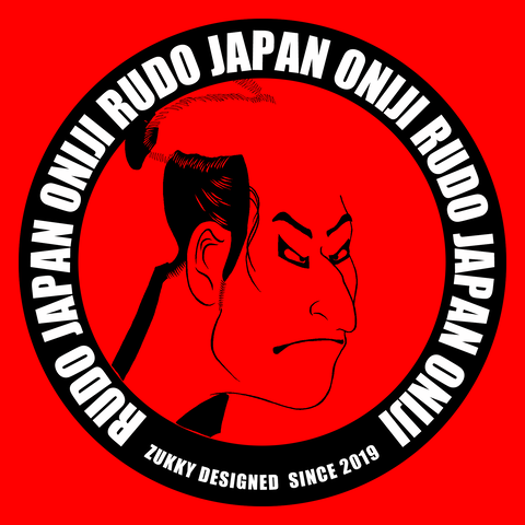 TシャツデザインRUDO JAPAN 鬼次