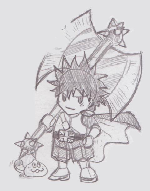 ラクガキ-光の戦士