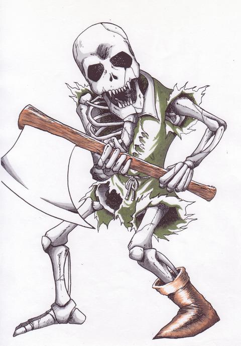 キャラクター-骸骨戦士