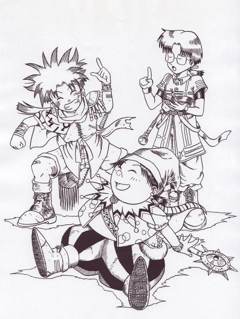 キャラクター-三人組