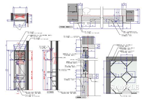 分電盤建具図 v2016