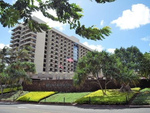 ハレコアホテルに泊まる。