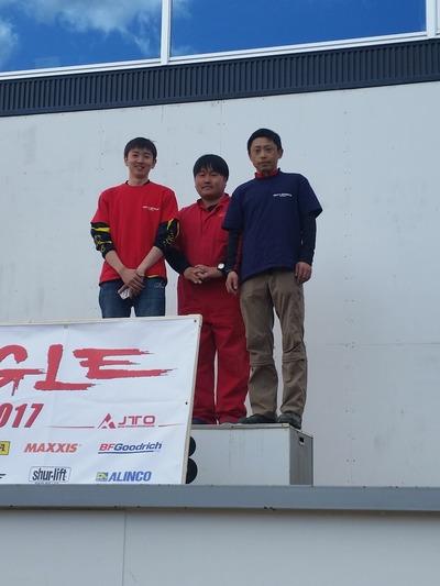 2017 TRYANGLE 東北DV 第1戦