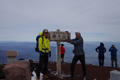 今を生きる19@Mt.Iwatesan(2038m)