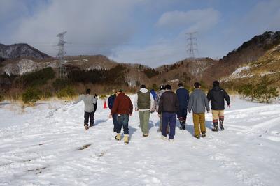 2018 伊藤板金的 冬キャンプ~チキチキレース