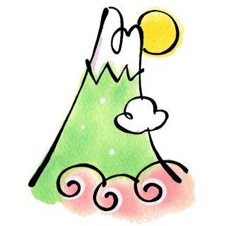 冬山登山(イラスト)