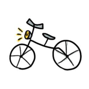 何度も自転車盗られてるのに、自衛すらできない彼に冷めた。