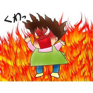 Aママが水だと思って盗んだ灯油に火をかけ爆発し、損害賠償しろとBママ宅に怒鳴り込んだ