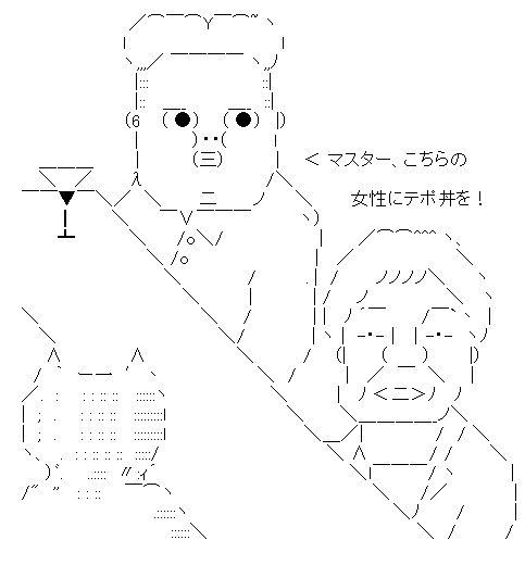 テポドン AA アスキーアート