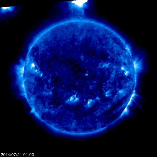 【画像】超巨大UFOが太陽系に来襲! 日本どころか地球オワタ\(^o^)/