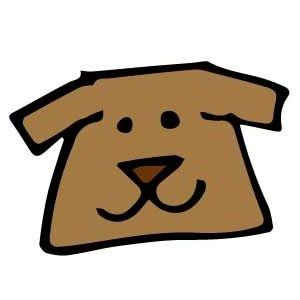 老犬(イラスト)