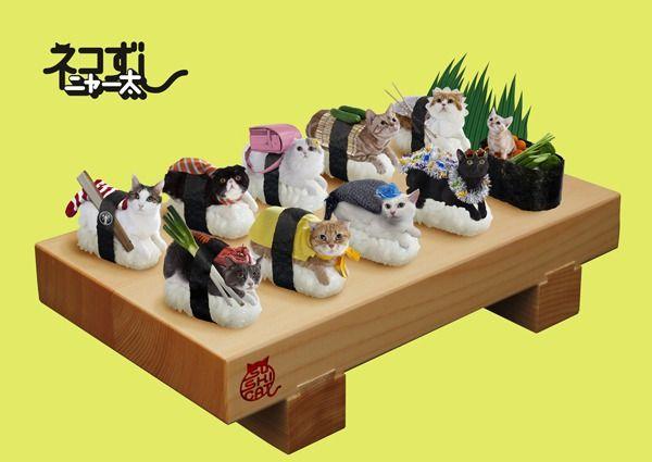 【流行】寿司シャリの上に猫!日本発『ネコずし』が海外で話題急上昇中!