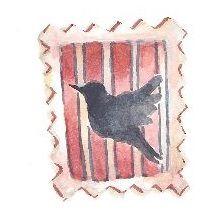 切手(イラスト)