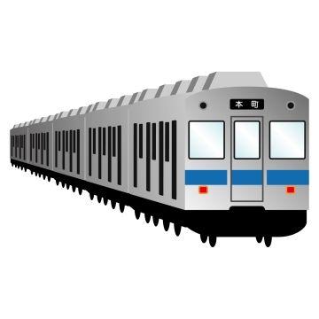 電車(イラスト)