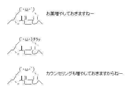 お薬 AA(アスキーアート)