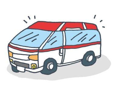 救急車(イラスト)