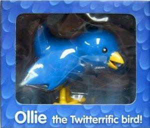 Twitter マスコット オンラインバード ミニフィギュア/Ollie the twitterrific bird【並行輸入】