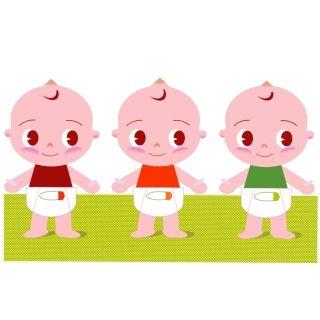 三つ子を妊娠&出産したときが最大の修羅場だった。