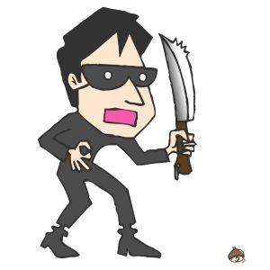 強盗は「頑張れよ…」と言うとそのまま何も取らずに逃げていった。