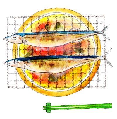 【画像】焼き魚からメールがきたんだが…