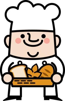 大量にパンを買って、その場で捨てるおかしな客の話。