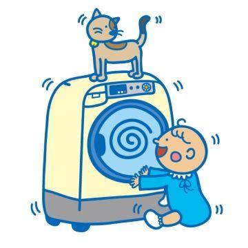 外干しは放射能怖いから、乾燥器貸してって隣家のママが頻繁に来る。