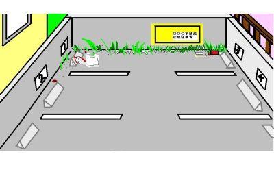 DQNカーが駐車スペース三台分使って駐車し、エンジンかけっぱでコンビニ入ったので制裁した