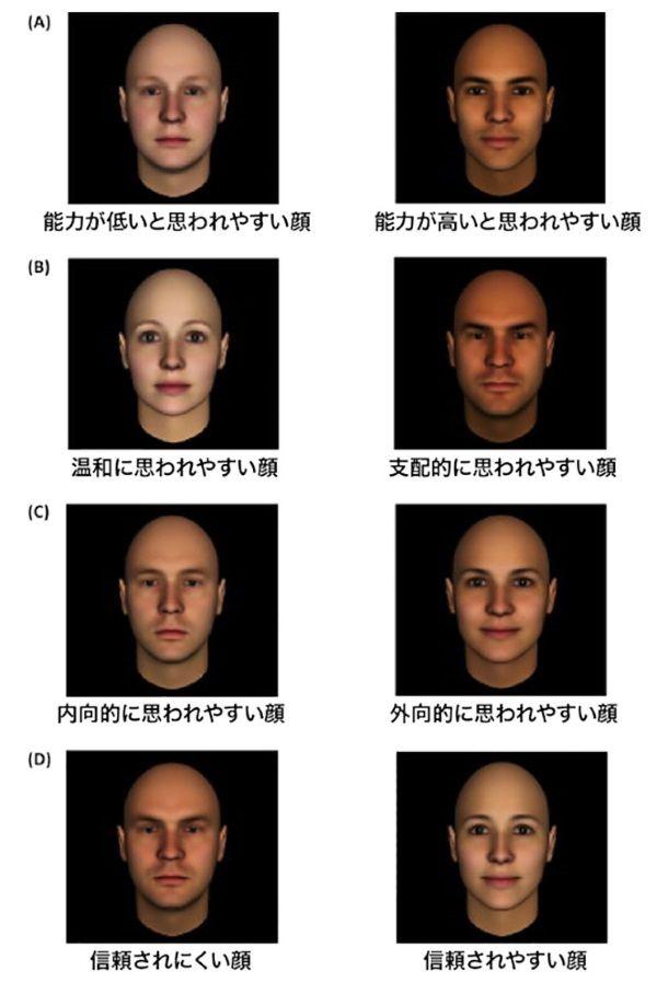 顔立ちが人に与える影響