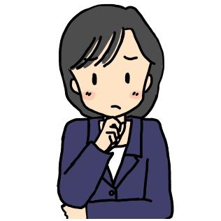 女性高校教師(イラスト)