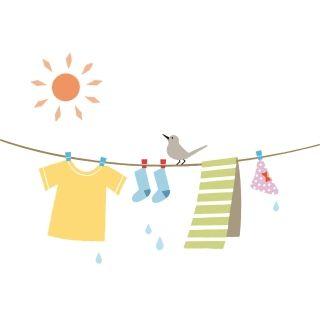 タオルを洗濯ばさみで止めなかった結果、大惨事に発展した・・・