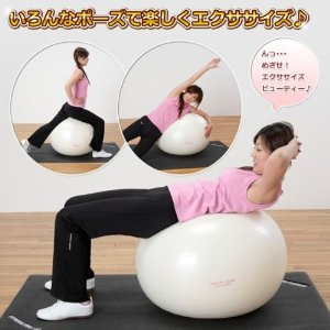 ALINCO(アルインコ) エクササイズボール 65cm EXG025