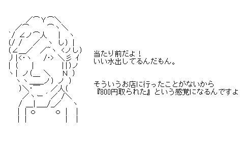 川越問題 AA(アスキーアート)