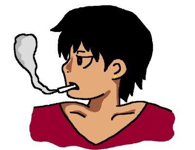タバコをポイ捨てした安っぽいホストに、ボスっぽい男が一言