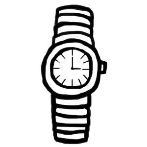 手首がムズムズすんな、と思ったらガキが俺の腕時計を盗もうとしていた