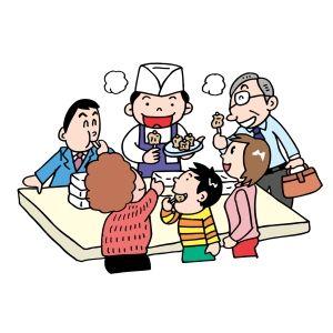 スーパーの試食で夕飯を済ませようとするセコケチ一家を見た!