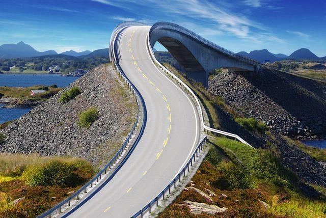 アトランティック・オーシャン・ロード(ノルウェー)