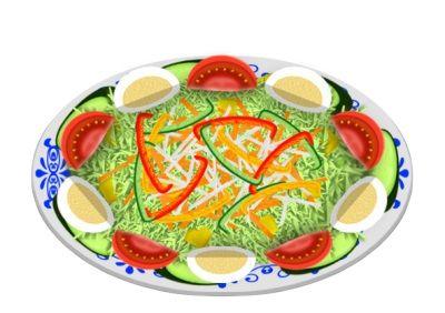 嫁が作るサラダは鳥肌が立つほどまずい・・・