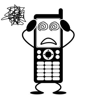 携帯メール(イラスト)