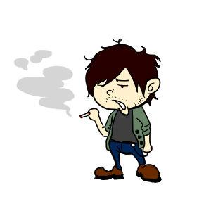 私はタバコの匂いも煙も苦手なのに、彼が禁煙してくれません・・・