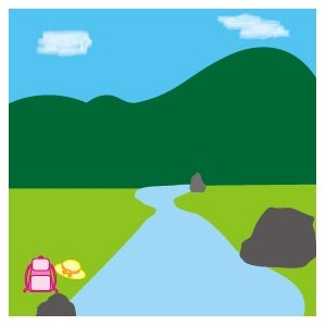 助けても誘拐犯だと誤解されるので、子供が川で流される様を見届けた