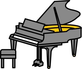 妻と娘二人が、並んでピアノを弾いてた。俺の親父の形見のグランドピアノ。